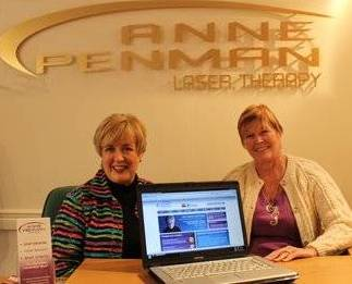Anne Penman and Eileen in Glasgow Scotland