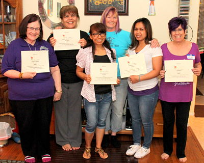 Reiki Training at Anne Penman Reiki Las Vegas with Reiki Master Eileen in Henderson Nevada